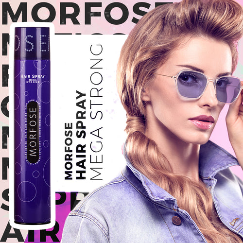 MORFOSE HAIR SPRAY EXTRA-ULTRA-MEGA STRONG 400ML - MorfoseUK