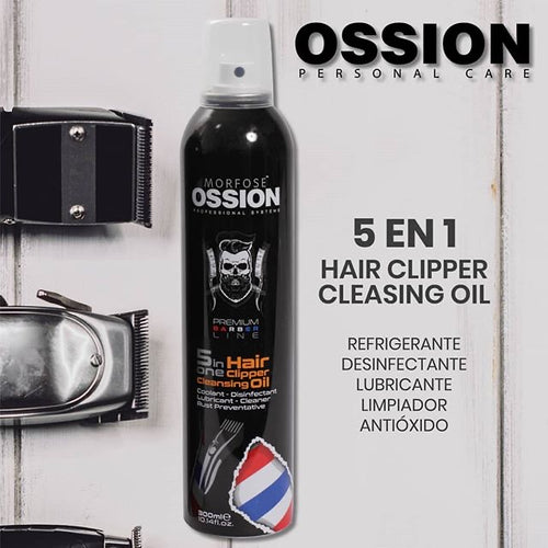 5 in 1 Hair Clipper Cleansing Oil