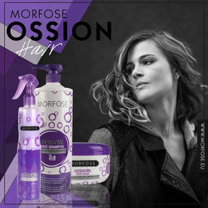 Morfose Keratin collection (1L Shampoo, 400ml Two Phase Conditioner, 500ml Hair mask)