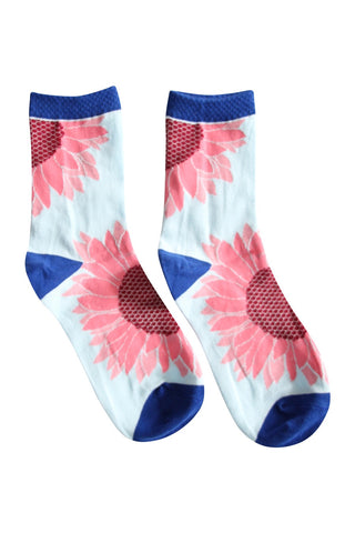 Sunflower Blue Socks
