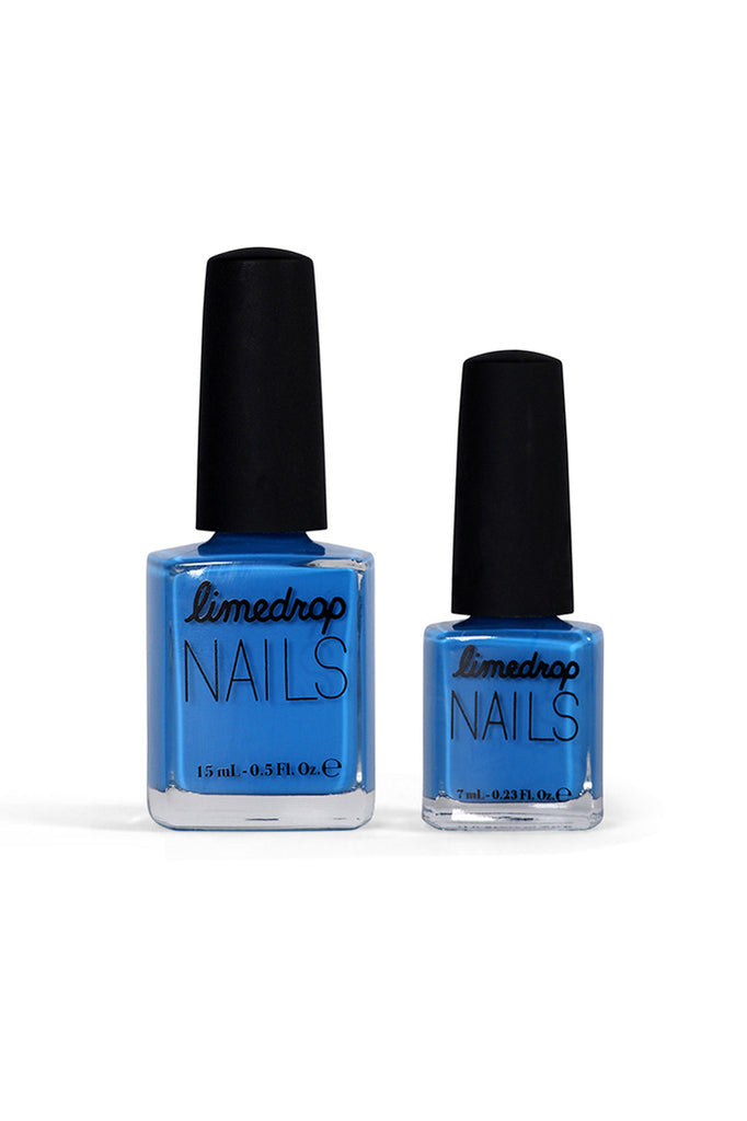 True Blue Limedrop Nail Polish