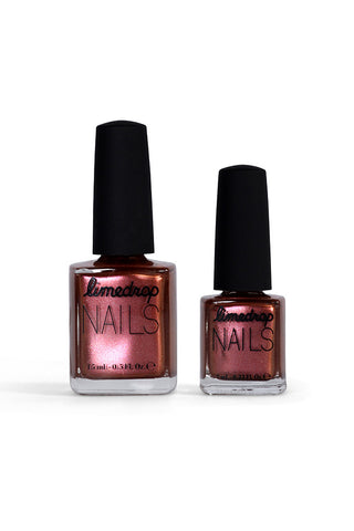 Copper Mine Limedrop Nail polish