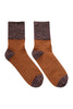 Rust Floss Glitter Socks