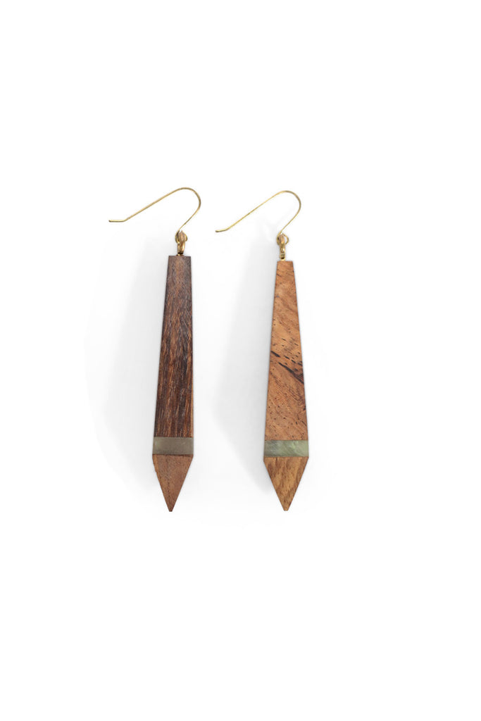 Marbled Drop Earrings