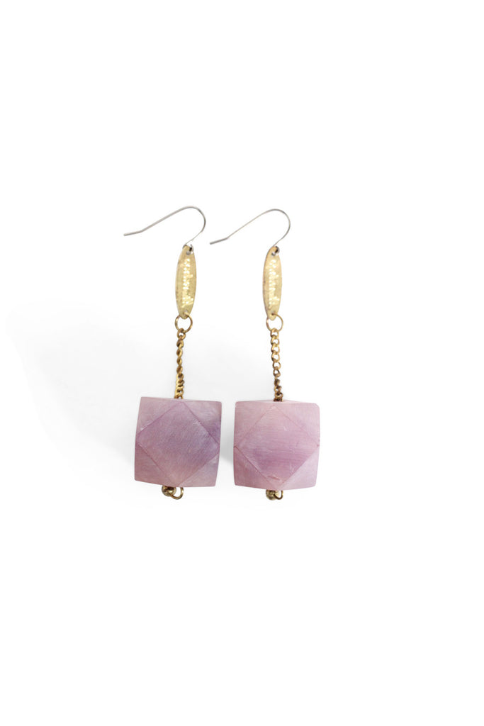Marbled Gem Earrings