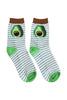 Avocado Stripe Socks