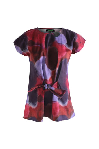 Watercolour Tie Top