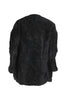 Black Teddy Fleece Lab Coat