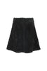 Black Teddy Fleece Skirt