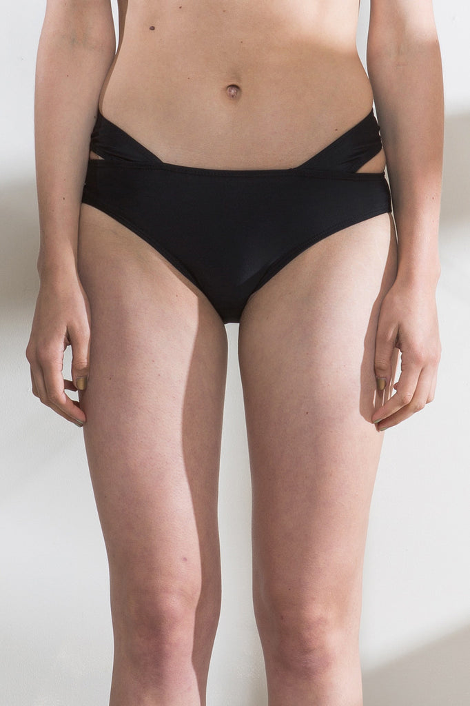 Cut Out Bikini Bottoms
