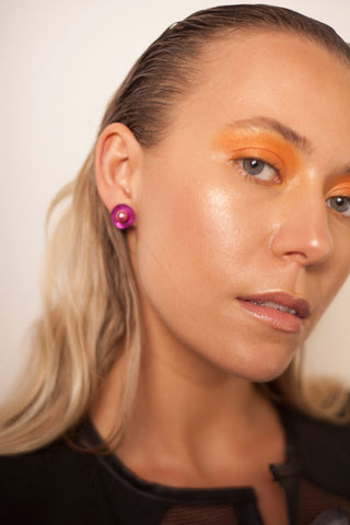 Electric Pink Earrings