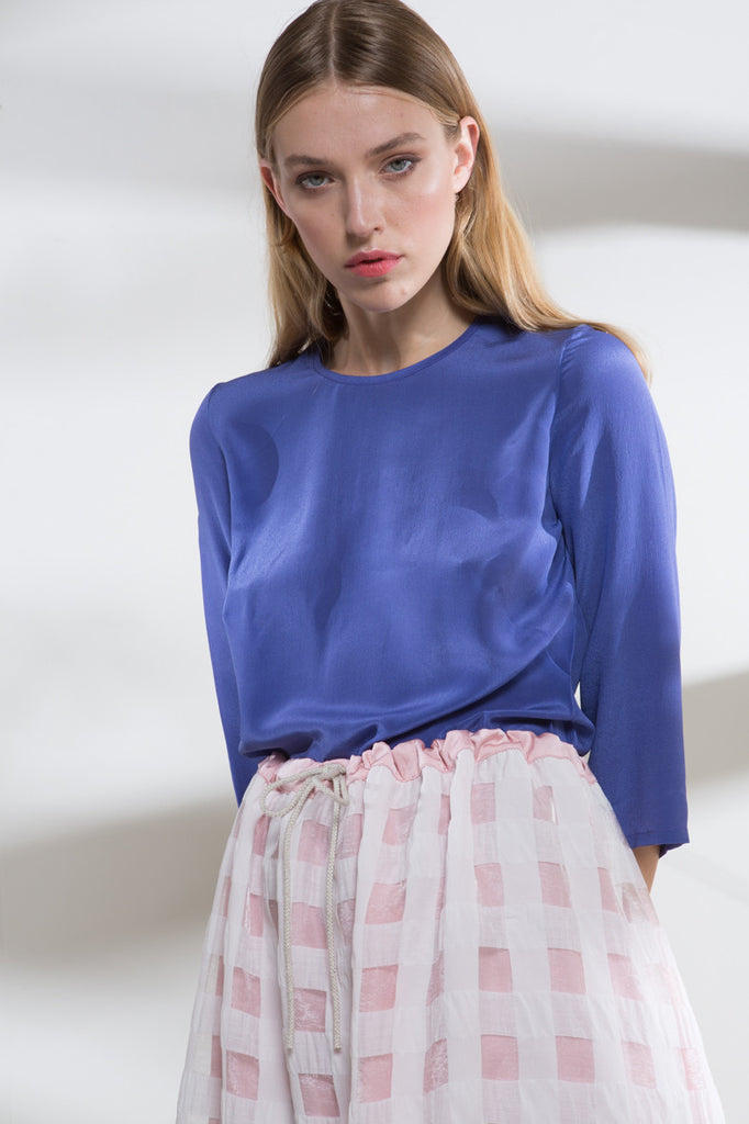 Blue Chalk Ava Top