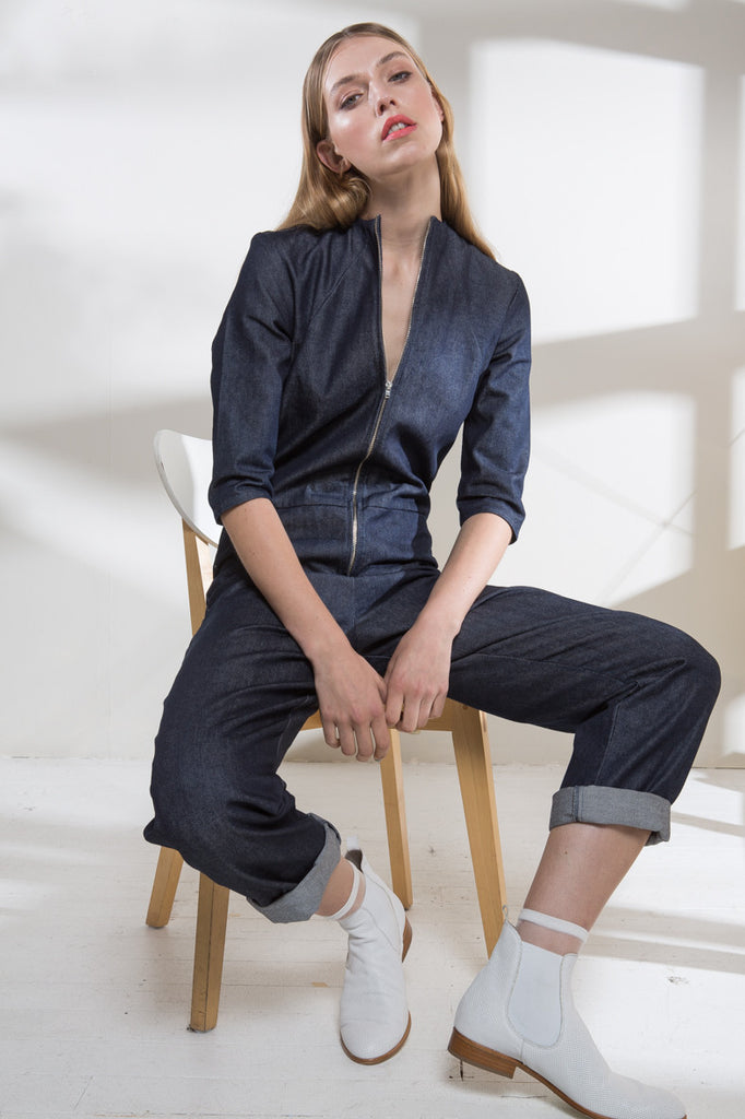 Dark Denim Kill Jumpsuit