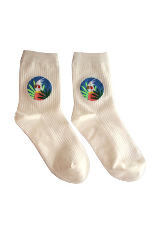 Cockatoo socks