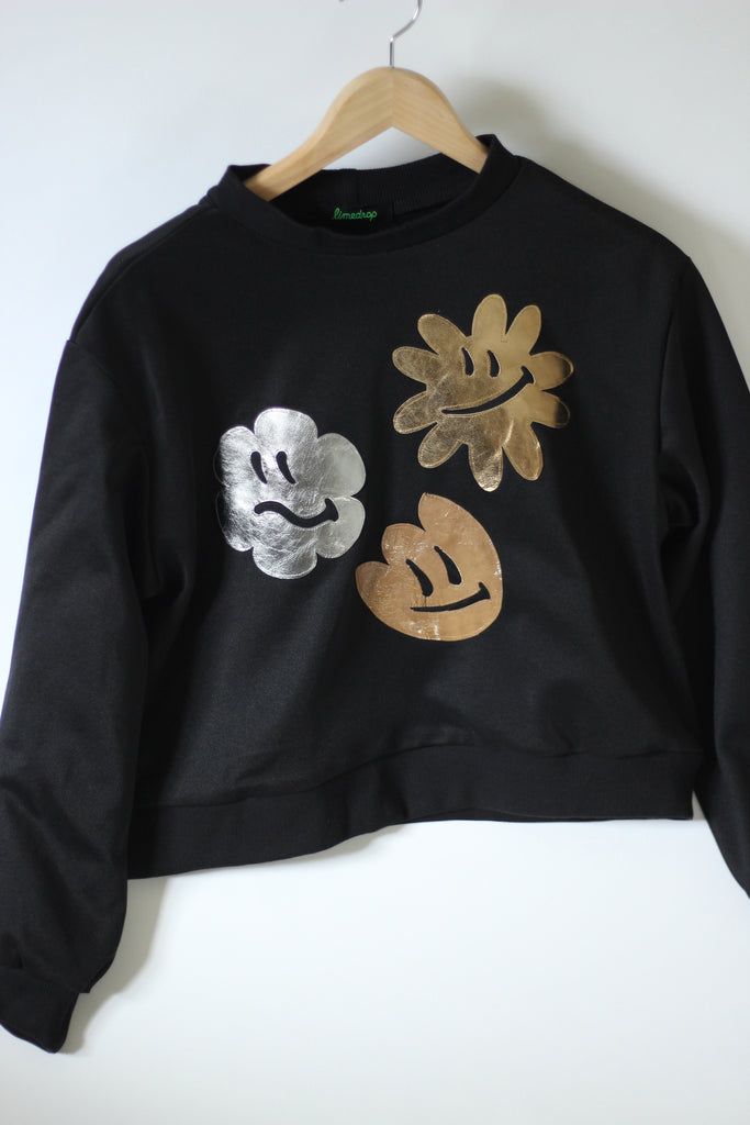 Smiley Flowers Jumper