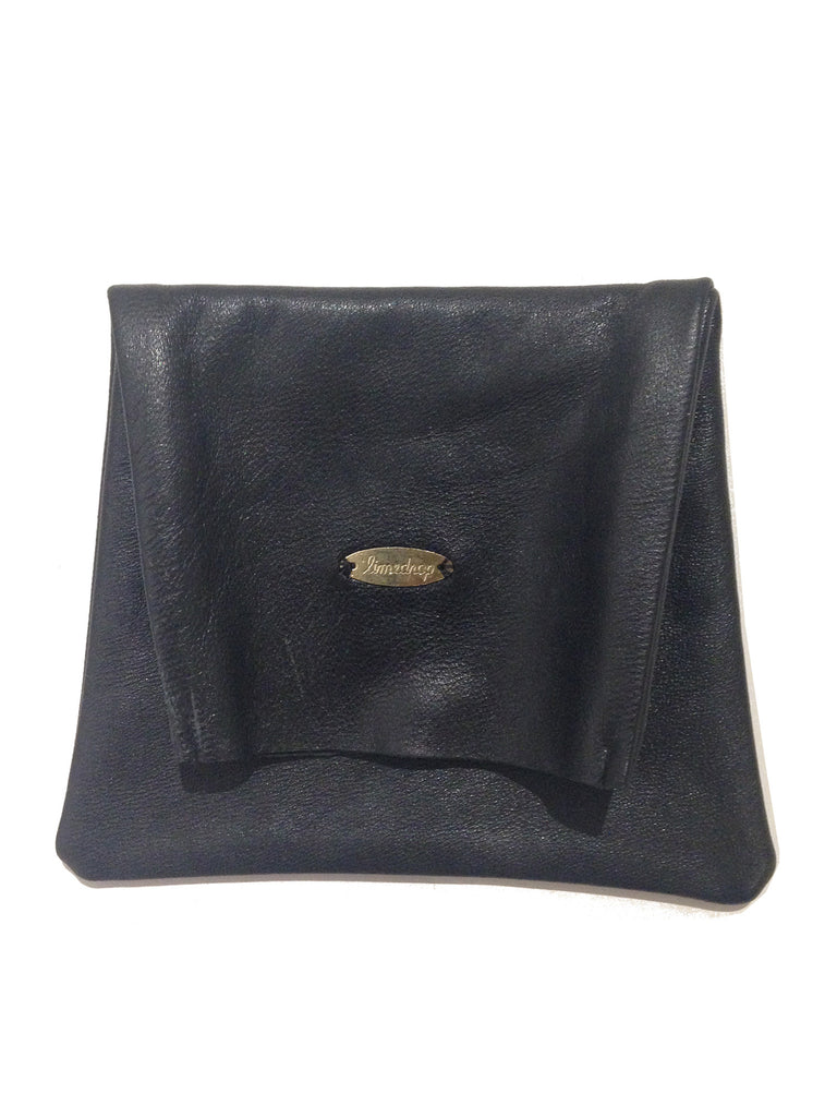 Leather Pouch Black Small