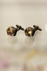 Metallic Resin Cufflinks Metallic Gold