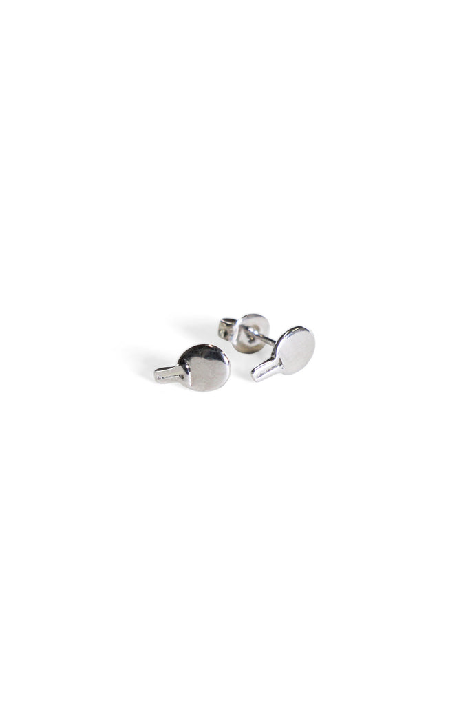 Paddle Studs Silver