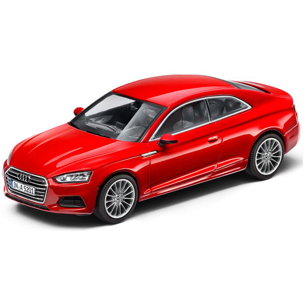 Audi A5 Coupé Rojo Escala 1:43