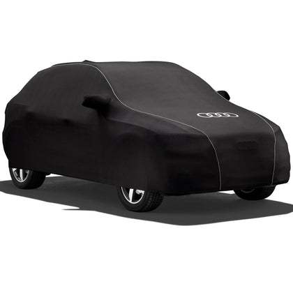 Car cover con estética de carbono Q7