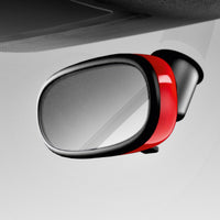 Embellecedor decorativo retrovisor interior rojo A1