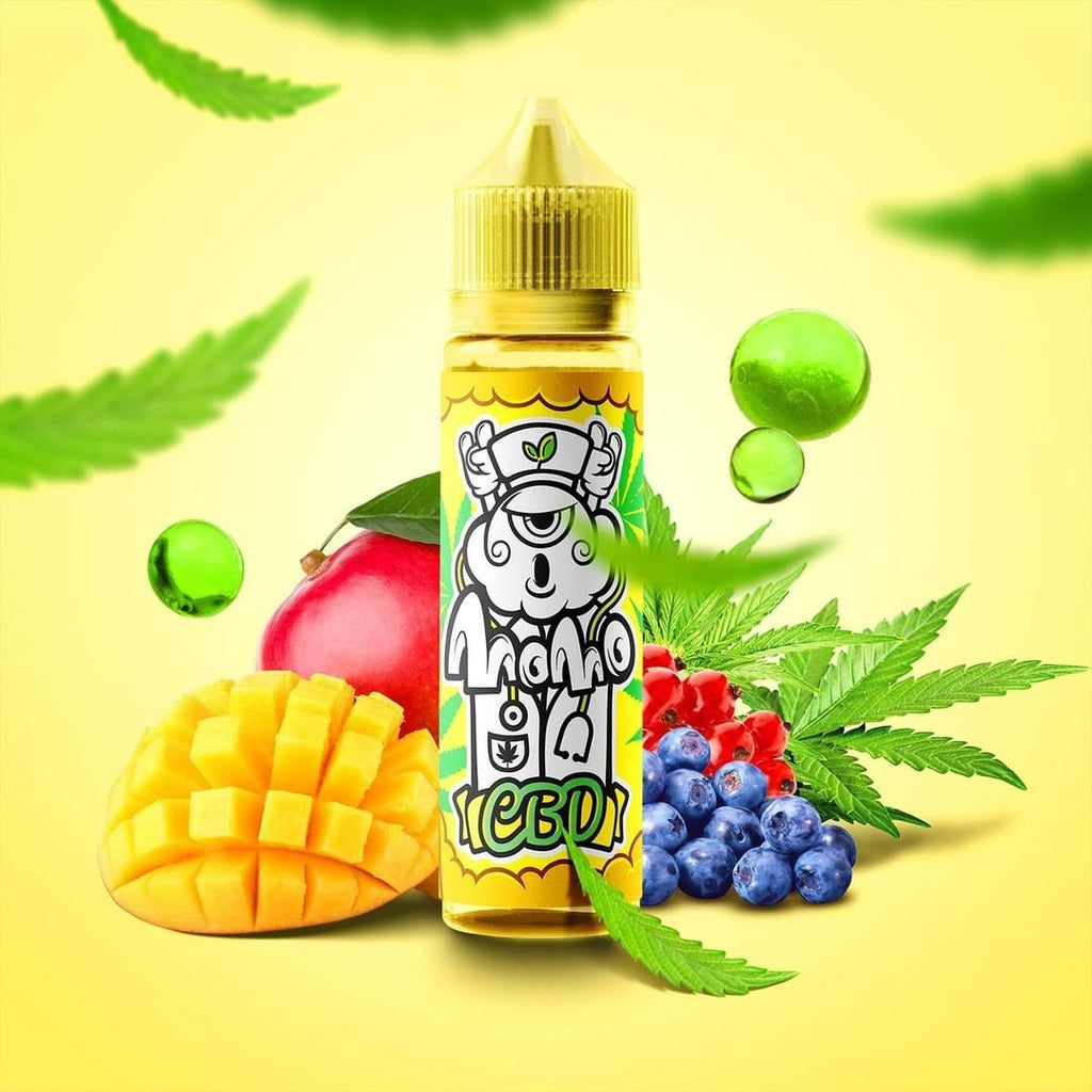 Mango Berry by MoMo CBD 1000mg 50ml