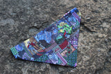 Beauty and the Beast Stained Glass Bandana made from Disney fabric