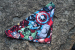 Avengers Assemble Bandana made from Marvel fabric