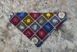 Game of Thrones Houses Bandana made with HBO Entertainment fabric