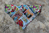 Avengers Comic Strip Bandana made from Marvel fabric