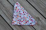 Floral Minnie Mouse Bandana made with Disney Fabric