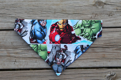 Avengers Portraits Bandana made with Marvel Fabric