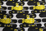 Minions Yellow Submarine made with Illumination fabric