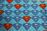 Superman Logo Bandana made with DC fabric