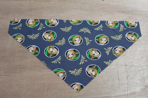 Adult Link Bandana made with Nintendo fabric