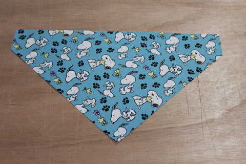 Snoopy and Woodstock Bandana made with Peanuts fabric