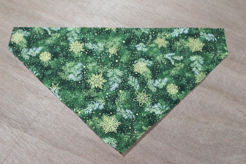 Evergreens and Snowflakes Bandana
