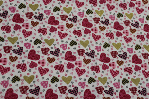 Box of Chocolates Heart Bandana