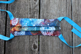 Glow in the dark Starlord Bandana made with Marvel fabric