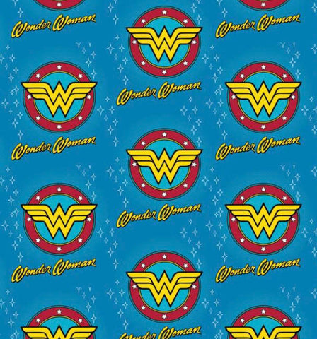 Wonder Woman Bandana made with DC fabric