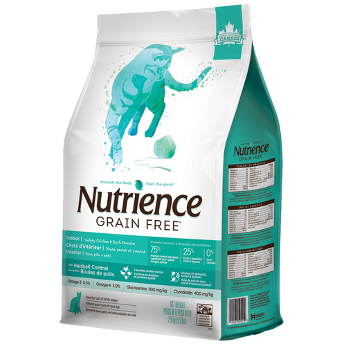 Nutrience Grain Free - Indoor / Hairball - Cat