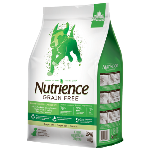 Nutrience Grain Free Turkey, Chicken & Herring - Puppy