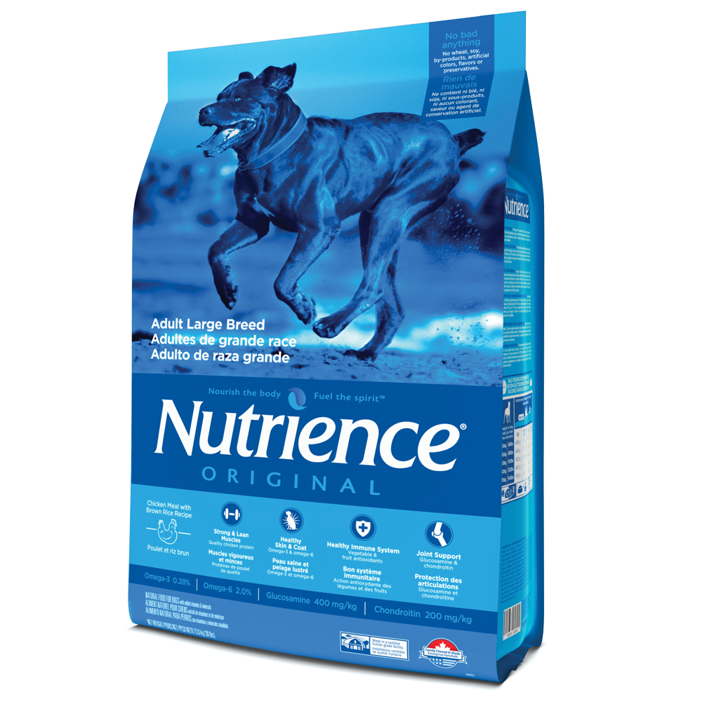 Nutrience Original Chicken & Brown Rice Dog - Large Breed