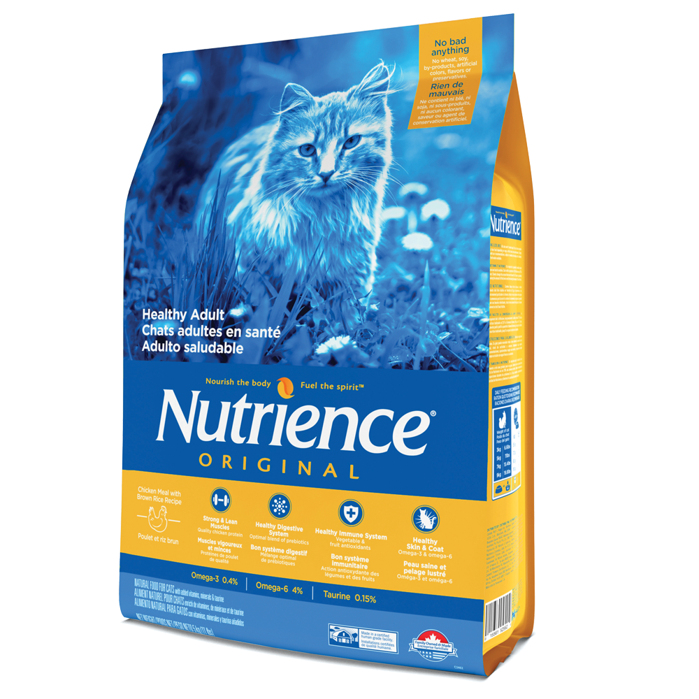 Nutrience Original Chicken & Brown Rice – Cat