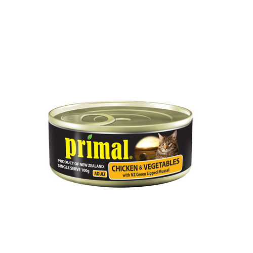 Primal Cat - Grain Free Chicken & Vegetables