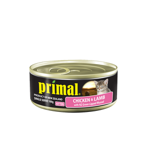 Primal Kitten - Grain Free Chicken & Lamb