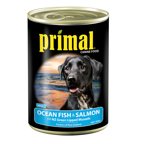 Primal Dog - Grain Free Ocean Fish & Salmon