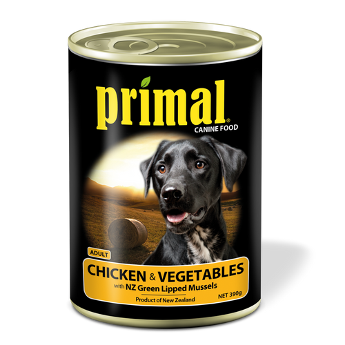 Primal Dog - Grain Free Chicken & Vegetables