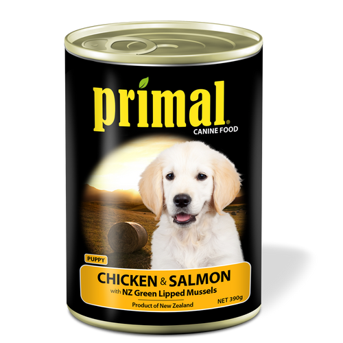 Primal Puppy - Grain Free Chicken & Salmon