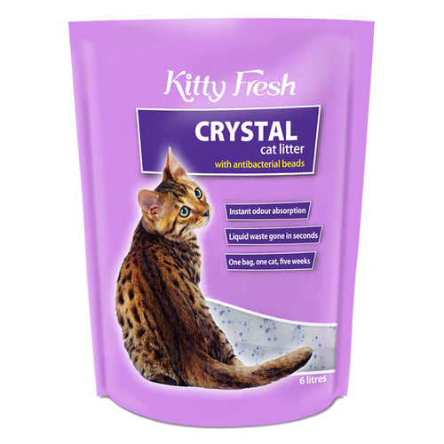 Cat Litter - Crystals